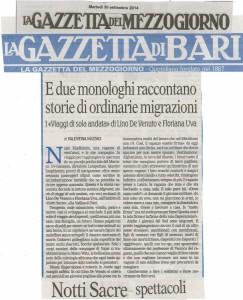 LaGazzettaDelMezzogiorno 300914