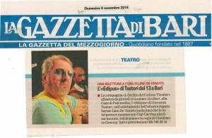 LaGazzettadiBari 09022014