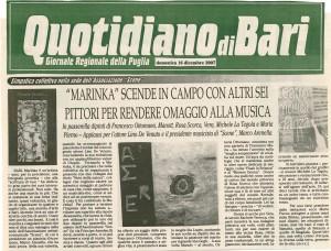 QuotidianoBari 16122007
