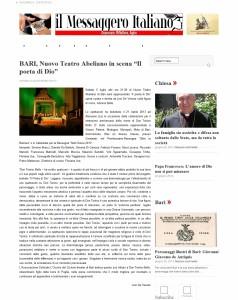 il-Messaggero-Italiano-BARI-Nuovo-Teatro-Abeliano-in-scena-Il-poeta-di-Dio-il-Messaggero-Italiano